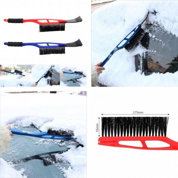 Автомобильный скребок с щеткой для лобового стекла ASMILE (1 шт, 2 цвета)