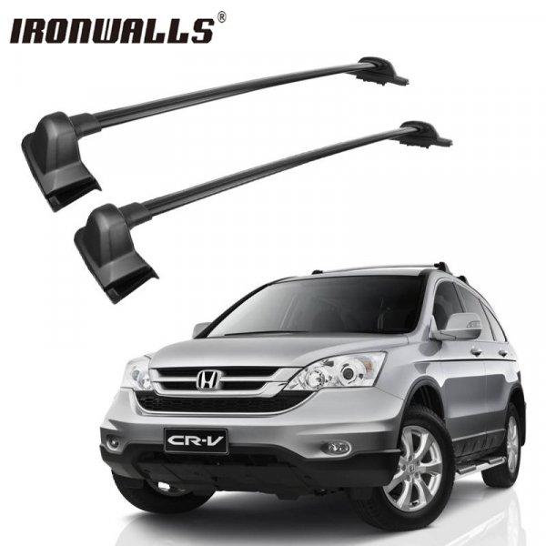 Поперечный багажник Ironwalls для авто (Honda CRV 2007- 2011, 109*15*9.5 см)