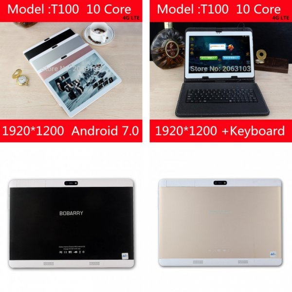 "Скоростной планшет BOBARRY 10.1"" (10 core MTK6797 3g 4 г gps Android 7 4 ГБ 64 ГБ/128 ГБ )"