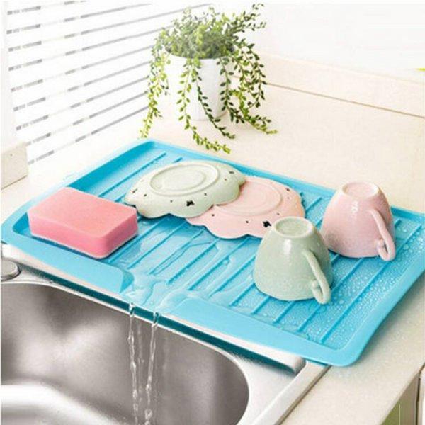Кухонный поднос-сушилка для посуды Asypets (4 цвета, 44.7*30.9*3.1 см)