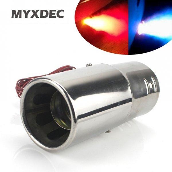 Насадка  выхлопной трубы с подсветкой MYXDEC (3 свечения)
