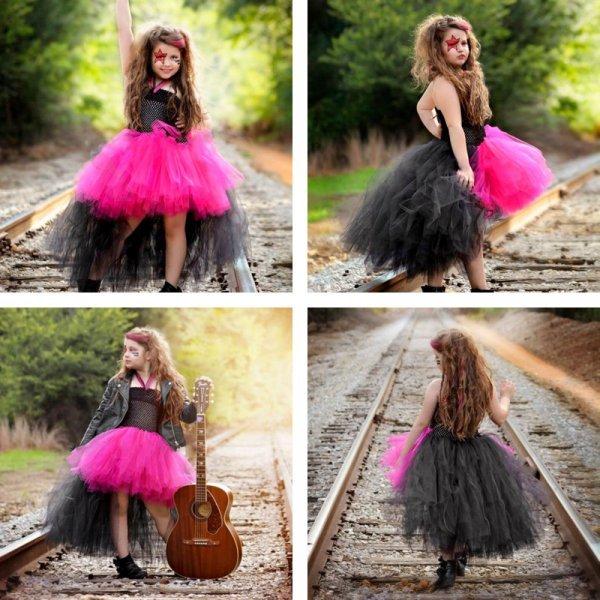 Платье-пачка Rockstar для стильной девчонки