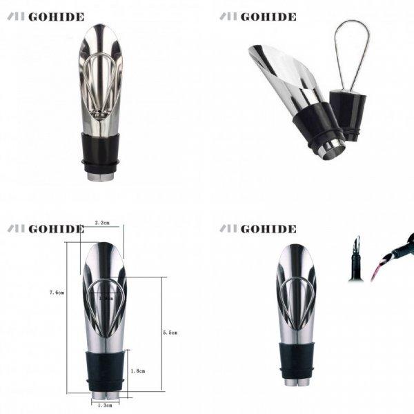 Пробка для бутылки GUHD 2 в 1 (5,5*2,0  см, 7.6*2.2 см)