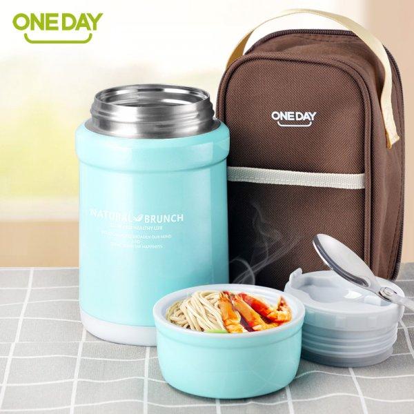 Термос для еды с ложкой OneDay (450 мл)