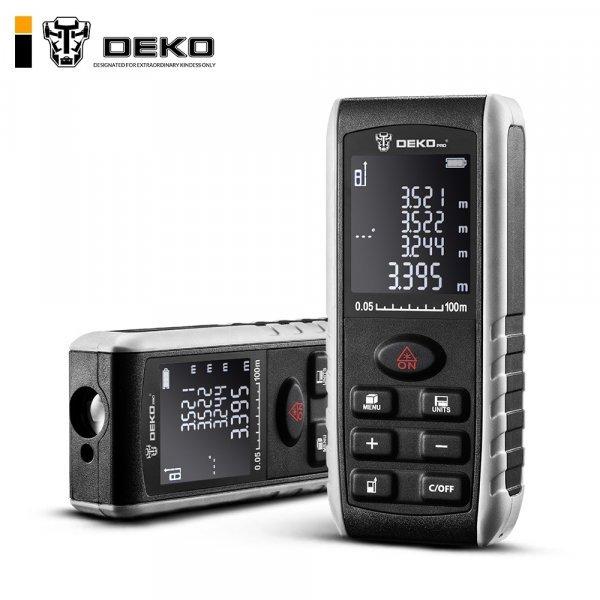 Профессиональный дальномер DEKO LRE521 (40 м, 50 м, 70 м, 100 м)