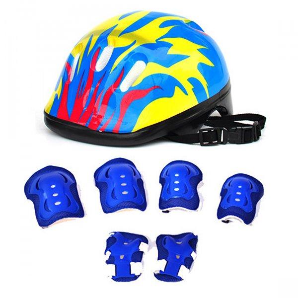 Велошлем для детей Cycle zone с защитой (7 шт)