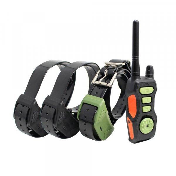 Электронный ошейник для дрессировки с пультом AHKUCI (1-3 собаки)
