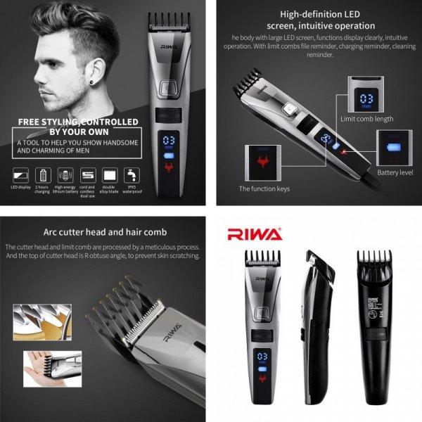 Электрический триммер Riwa для стрижки волос и бороды