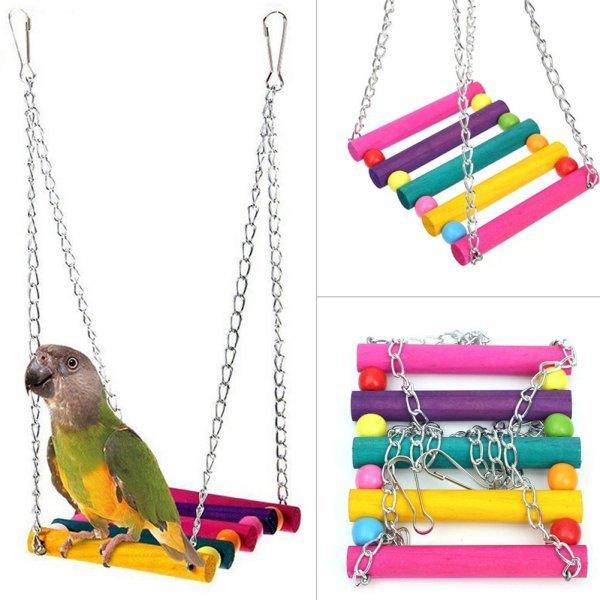Веселые качели для птиц TONQUU