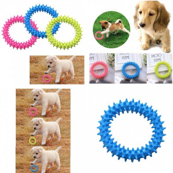 Резиновое кольцо для собаки