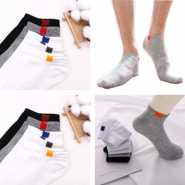 Укороченные носки для спорта (5 пар)