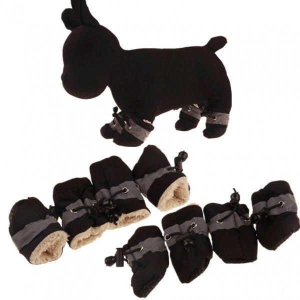 Утепленная обувь для питомца DogLemi (7 размеров, 6 цветов)
