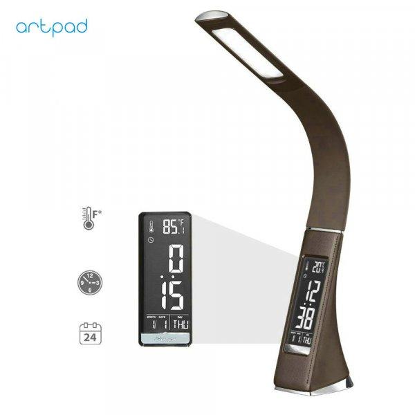Шикарная лампа Artpad с ЖК-дисплеем и будильником
