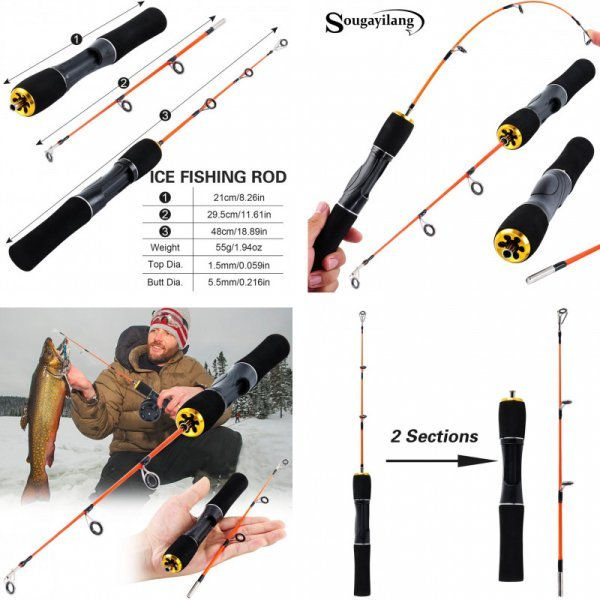 Удочка для зимней рыбалки Sougayilang