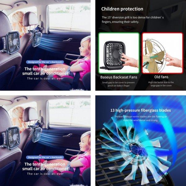 Автомобильный вентилятор Baseus