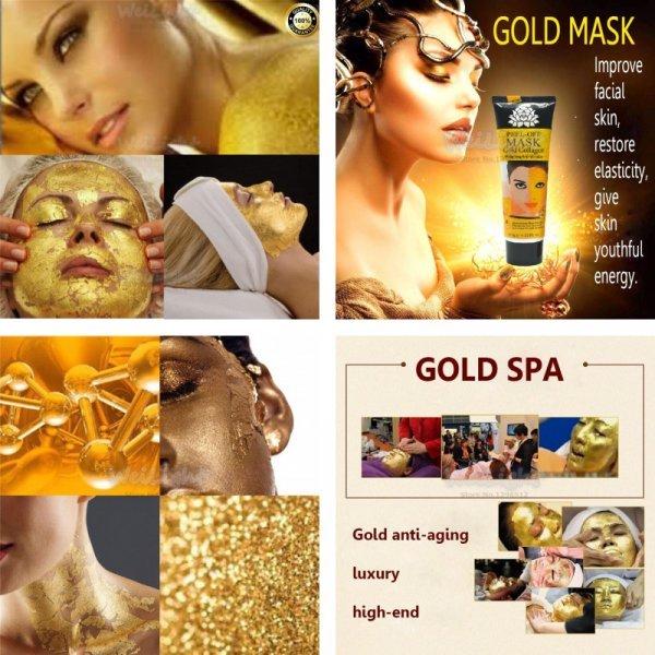 Маска с золотом против морщин Gold Mask