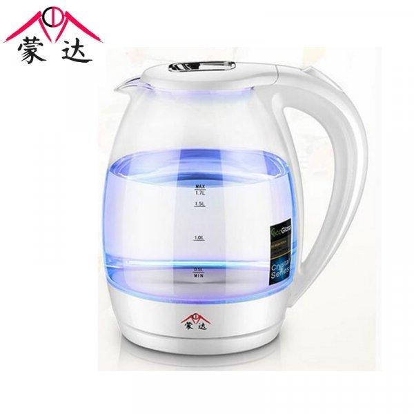 Новинка! Сверхтихий прозрачный чайник с подсветкой (220 В, 1.7 л, 230*150 мм)