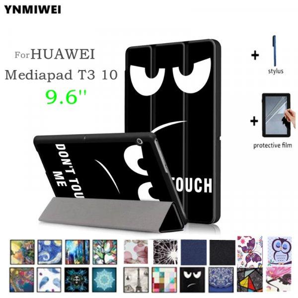 Стильный чехол Ynmiwei для Huawei MediaPad + Стилус