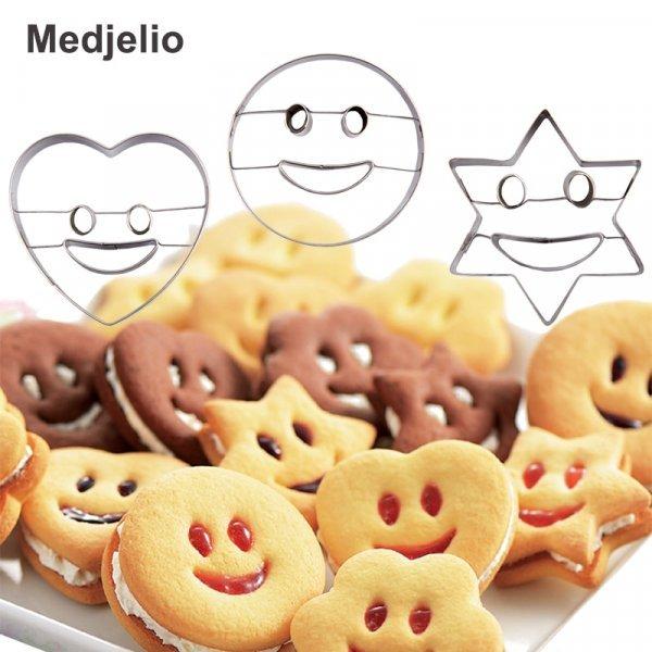 Удивительные формочки для печенья Medjelio (2 шт, 6 см)