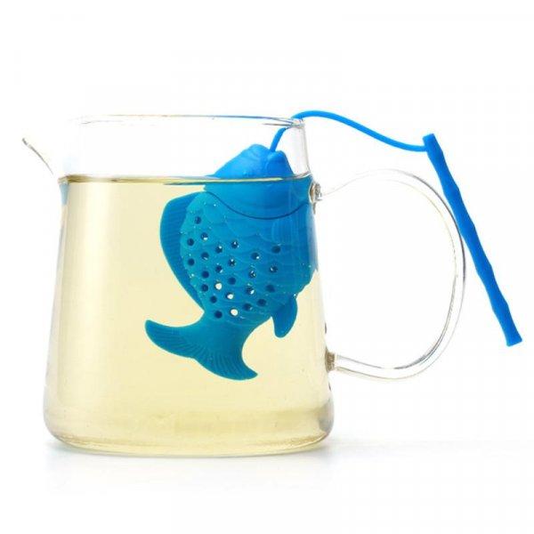 Забавное ситечко для заварки чая Рыба (6 цветов)