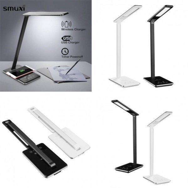 Настольная лампа с беспроводной зарядкой Smuxi