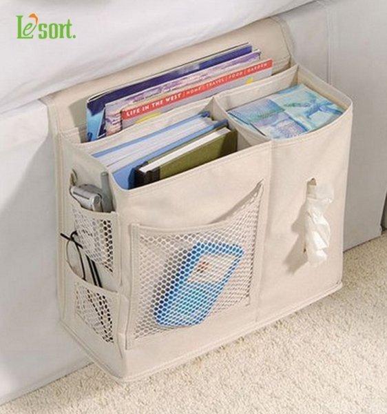 Вместительный карман-сумка для прессы Le'sort (5 цветов, 40*35*11 см)