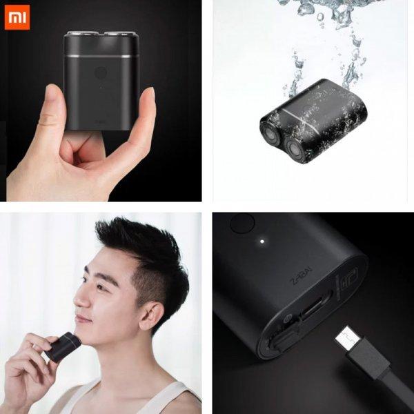 Мини электробритва для мужчин Xiaomi Mijia  IPX7 (5*6.35 см)
