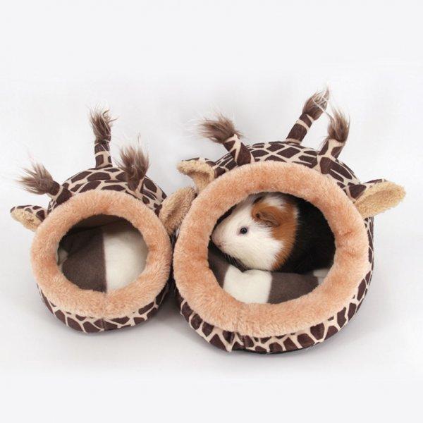 Плюшевый домик для грызунов KIMHOME PET (2 размера, 2 цвета)