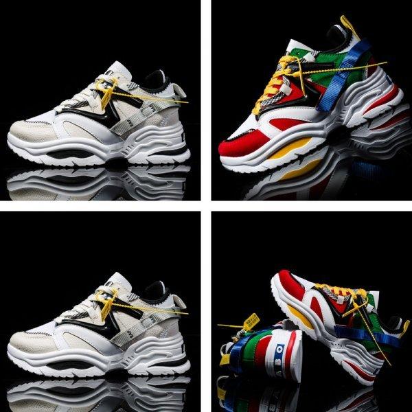 Кроссовки на массивной подошве MaWeiSiTu (8 цветов, 6 размеров)