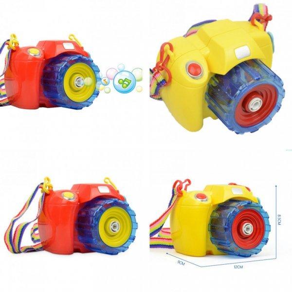 Волшебный фотоаппарат для мыльных пузырей WILD FRUIT (2 цвета)