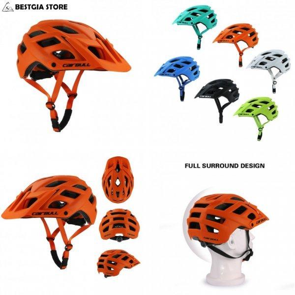 Надежный велосипедный шлем Cairbull (6 цветов, окр. гол. 55-61 см)