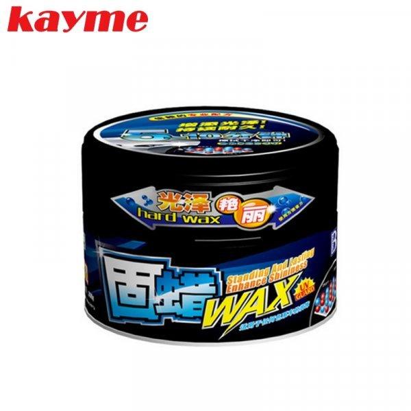 Большая банка автомобильного воска Kayme (500 г, губка)