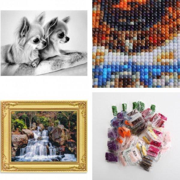 Набор для творчества - алмазная вышивка Собачка (21 размер)