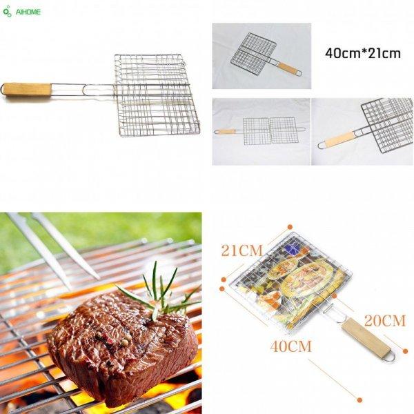 Компактная решетка для барбекю Aihome (40*21 см)