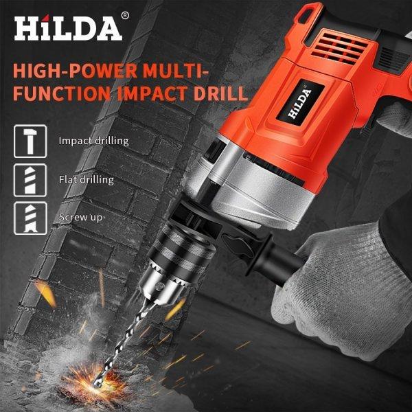 Мощная электродрель HILDA