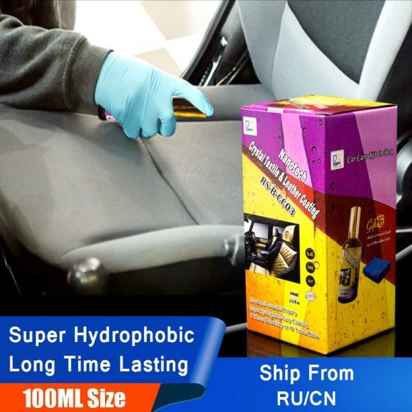 Гидрофобная пропитка тканевой обивки салона авто Rising Star (100 мл)