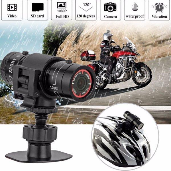 Мини экшн-камера Rondaful 120 градусов Full HD 1080P для мотоцикла