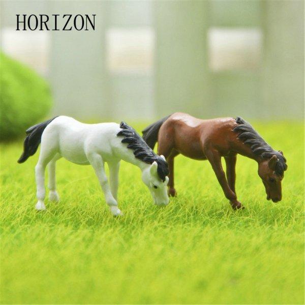 Забавные лошадки для декора лужайки (2 шт, 2.5*4.5 см)