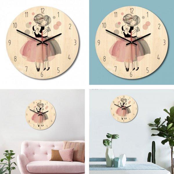 Настенные часы для детской (4 принца, 28*28*3 см)