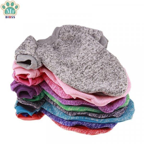 Теплая кофта для голых пород кошек (5 размеров, 9 цветов)