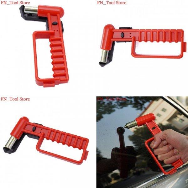 Красный аварийный молоточек для автомобиля FASEN