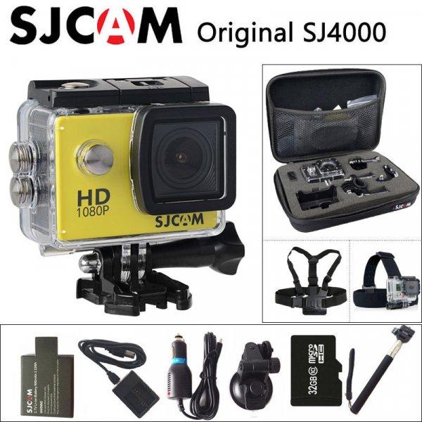 "Мини экшен-камера SJCAM SJ4000 2"" 080 P Full HD для дайвинга (30 м)"