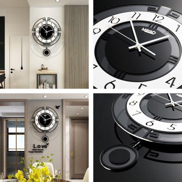 Настенные часы с маятником Swingable