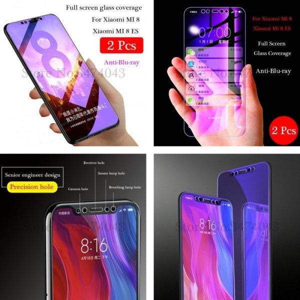 Закаленное стекло для Xiaomi mi 8 от Arsmundi (2 шт)