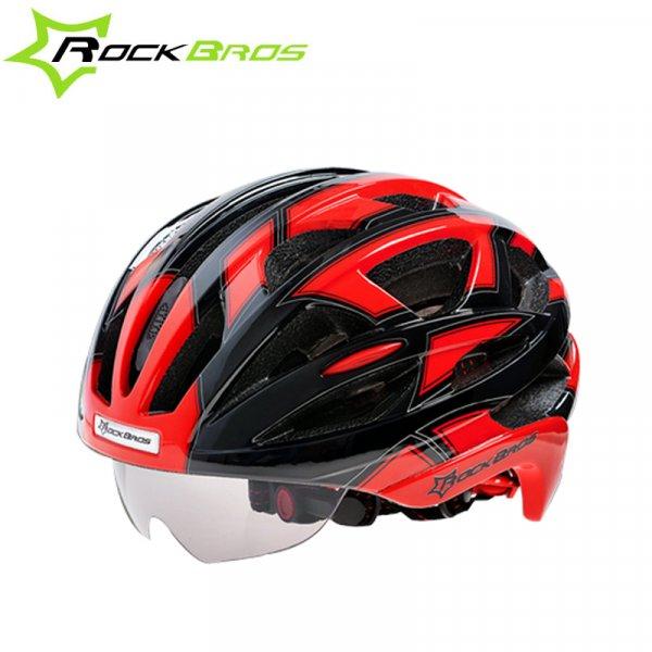 Горный велошлем ROCKBROS с очками унисекс