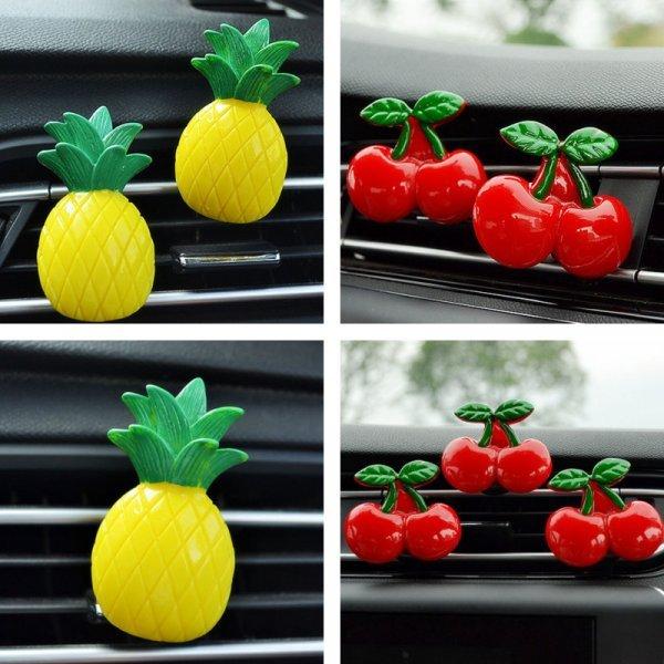 Ароматный ананас или вишня - лучшие освежители в авто (1 шт)