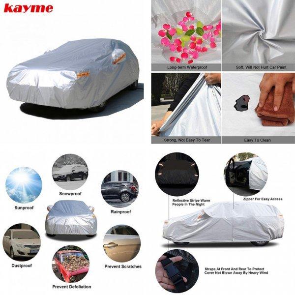 Защитный тент для авто Kayme (13 размеров)
