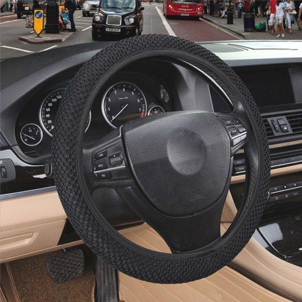 Надежная накладка на рулевое колесо авто Sikeo
