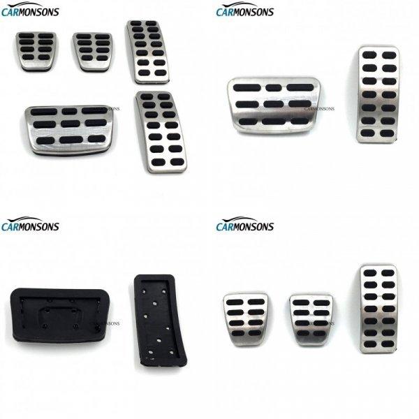 Комплект накладок на педали для Hyundai (2, 3 шт)