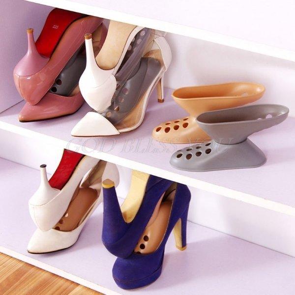 Шикарная подставка для туфель OOTDTY (2 цвета, 15*8 см)